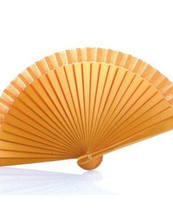 abanico-de-madera-liso-oro