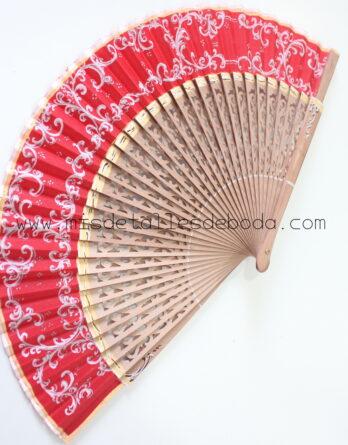 abanico-pintado-a-mano-original-rojo