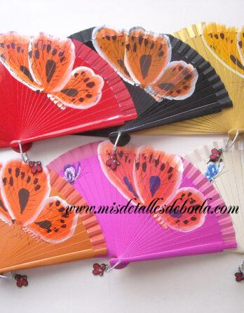abanico-pintado-mariposa-8333-23cms