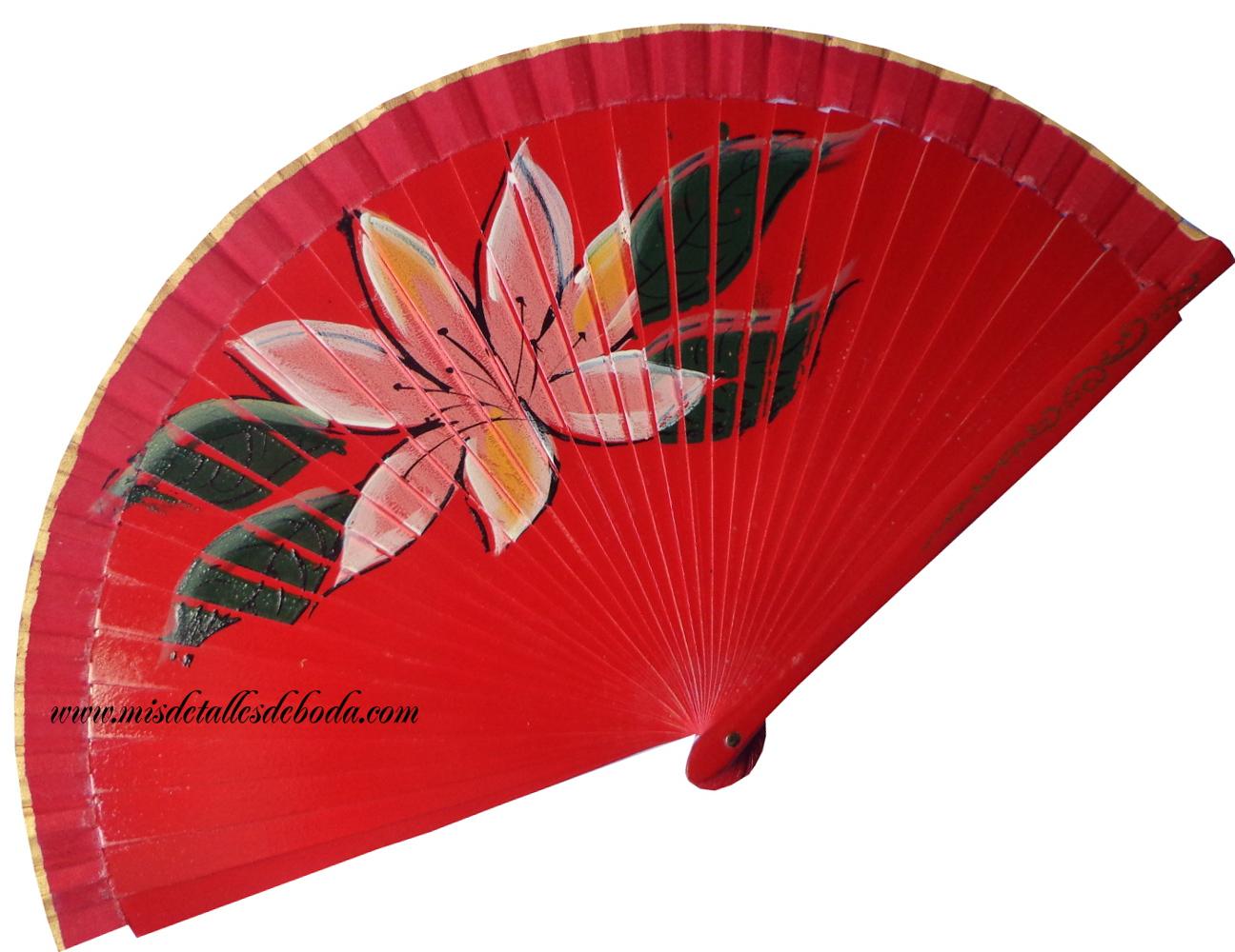 abanico-pintado-flor-grande