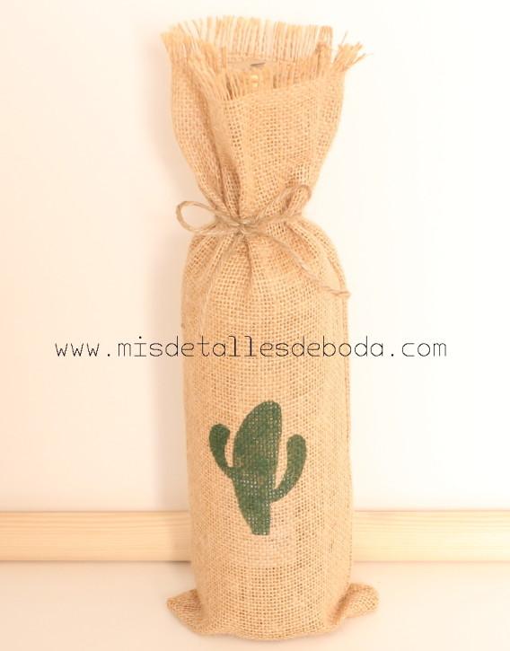 saco-rustico-botella-cactus
