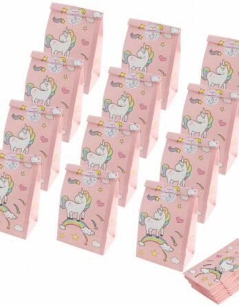 lote-de-12-bolsas-de-papel-unicornios-recuerdo