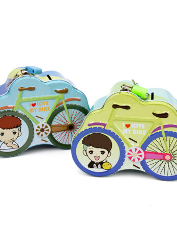 hucha niño bicicleta original
