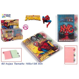 libreta-spiderman