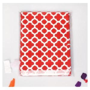 lote-25-bolsas-de-papel-mosaico-de-regalo-rojo