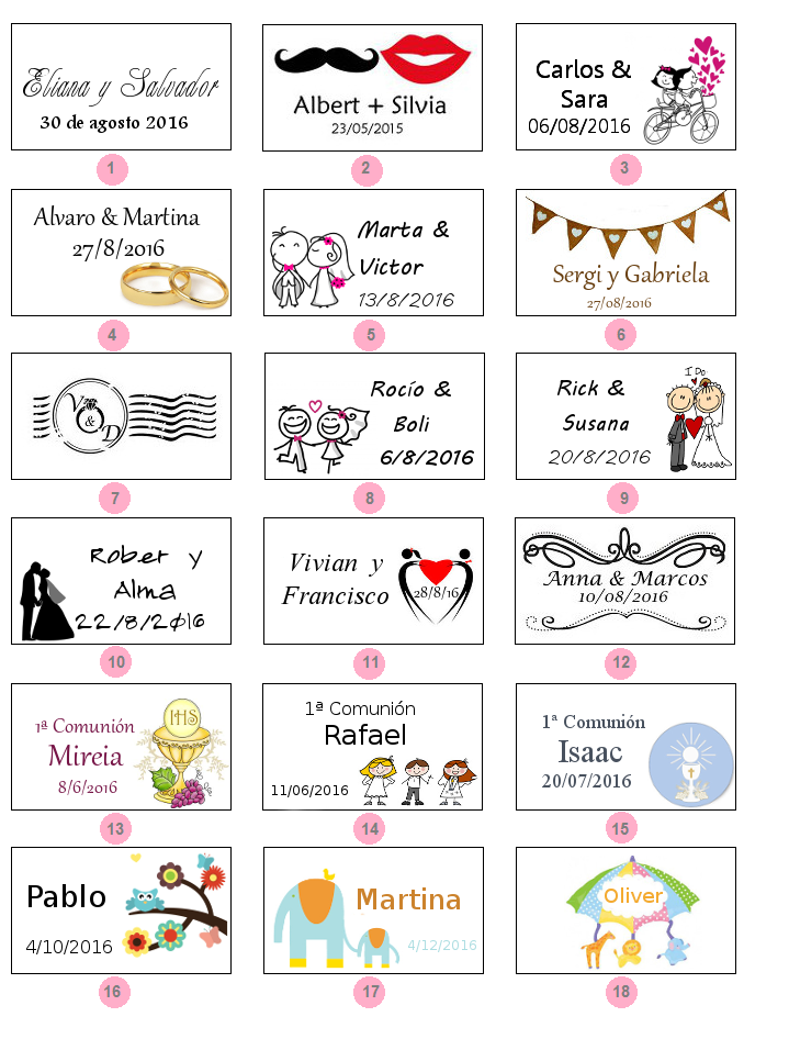 Etiquetas para imprimir para recuerdos de cumpleaos - Etiquetas para regalos para imprimir ...