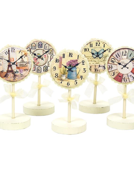 reloj pinza detalle vintage