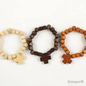 pulsera-comunion-madera-cruz