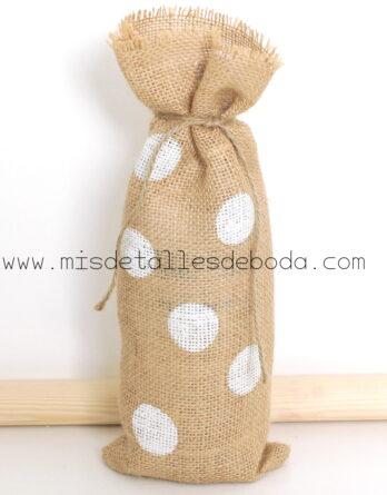 saco-botella-original-boda-lunares