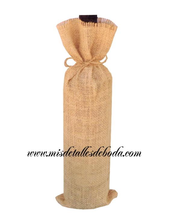 saco-rustico-botella-boda
