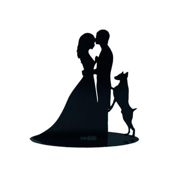 figura-pastel-metalica-perro