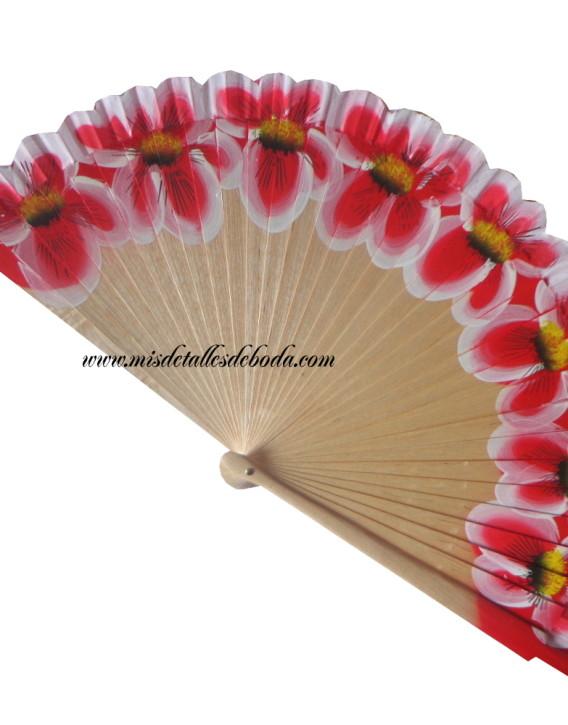 abanico-pintado-mano-flores-rojas