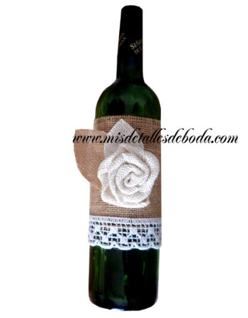 decoracion-botellas-boda-original