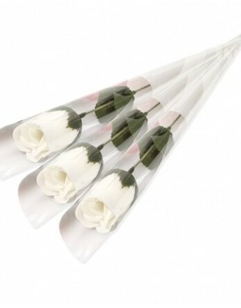 rosa blanca jabon boda