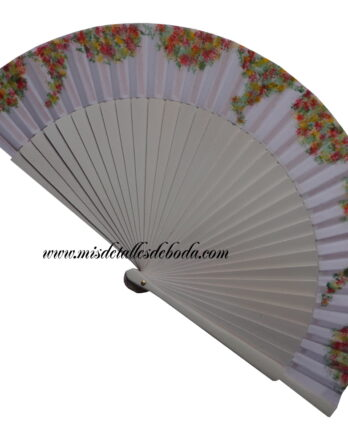 abanico-pintado-a-mano-floral-boda