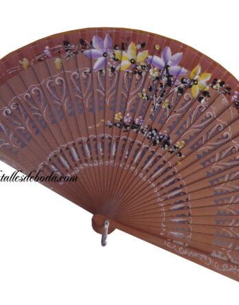 abanico-pintado-mano-flores