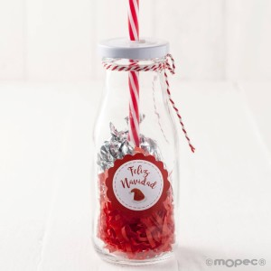 botella-cristal-recuerdo-navidad