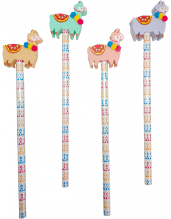 lapices-de-madera-con-borrador-llamas