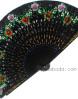 abanico-negro-pintado-flor-aster