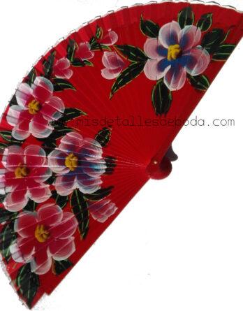 abanico-rojo-pintado