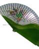 abanico-verde-pintado-a-mano